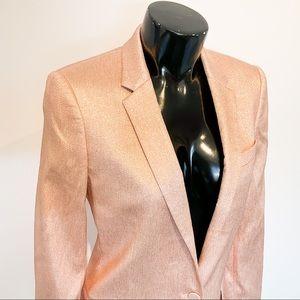 NWT TOPSHOP Rose Gold Blazer
